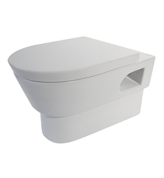 EAGO WD332 Modern Wall Mount Dual Flush Toilet