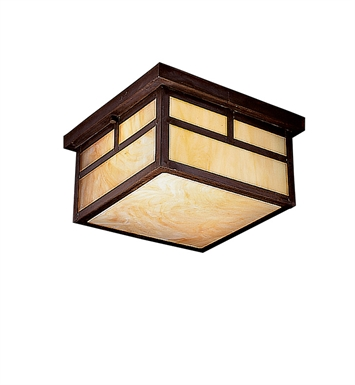 Kichler Outdoor Flush Mount 2 Light Fluorescent