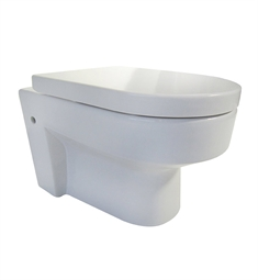 Eago WD101 Modern Wall Mount Dual Flush Toilet