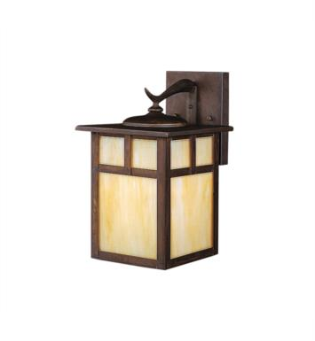 "Kichler 9651CV Alameda 1 Light 7"" Incandescent Outdoor Wall Sconce in Canyon View"