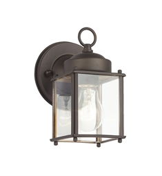 Kichler Modern 1 Light Outdoor Wall Sconce in Olde Bronze