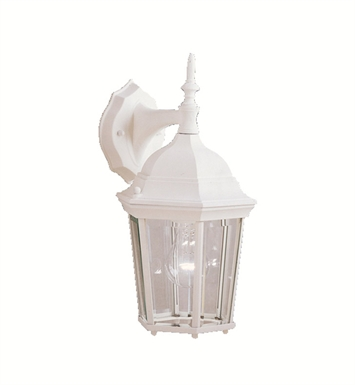 Kichler 9650WH One Light Outdoor Wall Sconces in White