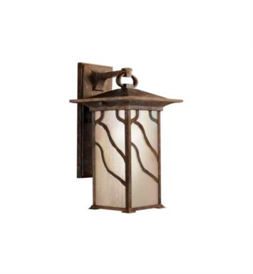 "Kichler 9031DCO Morris 1 Light 15 1/4"" Incandescent Outdoor Wall Sconce in Distressed Copper"