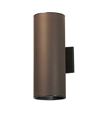 Kichler 9246AZ Two Light Outdoor Wall Sconce in Architectural Bronze