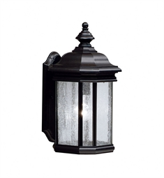 Kichler One Light Outdoor Wall Sconce in Black (Painted)