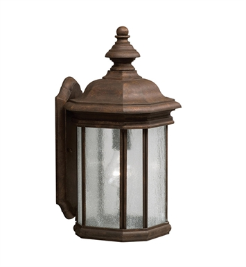 Kichler 9029TZ One Light Outdoor Wall Sconce in Tannery Bronze