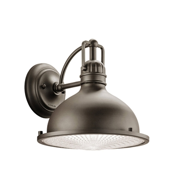 Kichler 49067OZLED One Light LED Outdoor Wall Sconce in Olde Bronze