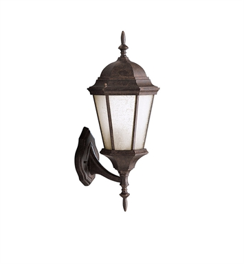 Kichler 9654TZ One Light Outdoor Wall Sconces in Tannery Bronze