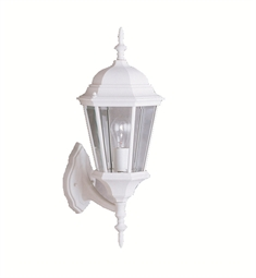 Kichler One Light Outdoor Wall Sconces in White