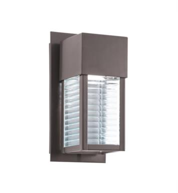 "Kichler 49117AZLED Sorel 1 Light 5 1/4"" LED Outdoor Wall Sconce in Architectural Bronze"