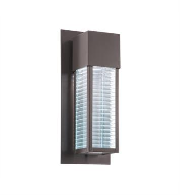 "Kichler 49118AZLED Sorel 1 Light 6 1/2"" LED Outdoor Wall Sconce in Architectural Bronze"