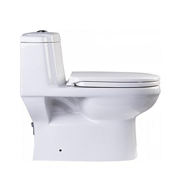 Eago Tb222 One Piece Dual Flush High Efficiency Eco