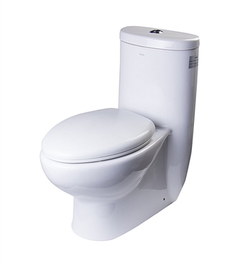 Eago TB309 Tall One Piece Dual Flush Eco Friendly Toilet