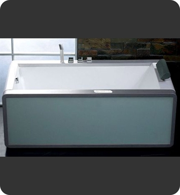 Eago AM151-L Left Drain 6 foot Modern Whirlpool Bath Tub