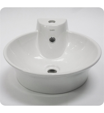 Eago BA121 18 inch Round Ceramic Above Mount Bathroom Basin