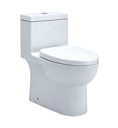 EAGO TB359 Dual Flush One Piece Eco-Friendly High Efficiency Low Flush Toilet