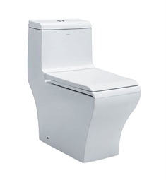 EAGO TB356 Dual Flush One Piece Eco Friendly High Efficiency Toilet