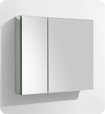 "Fresca FMC8090 30"" Wide Bathroom Medicine Cabinet with Mirrors"