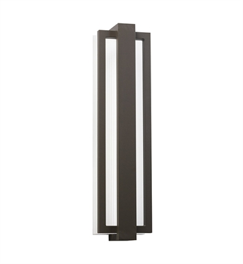Kichler 49435AZ Sedo Collection 1 Light Outdoor Wall Sconce in Architectural Bronze