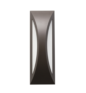Kichler 49436AZ One Light Outdoor Wall Sconce in Architectural Bronze
