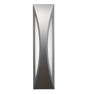 Kichler 49437PL One Light Outdoor Wall Sconce in Platinum