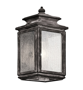 Kichler 49501WZC Wiscombe Park Collection 1 Light Outdoor Wall Sconce