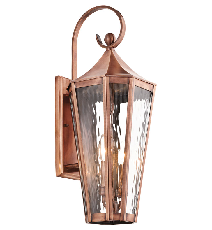 Malibu Brightscapes Landscape Lighting Antique Copper: Kichler 49513ACO Stonebrook Collection 2 Light Large