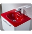 Fresca Integrated Sink/Countertop in Red