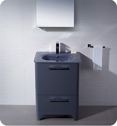Fresca Brillante Decor Planet Exclusive Modern Bathroom Vanity in Lavender Grey