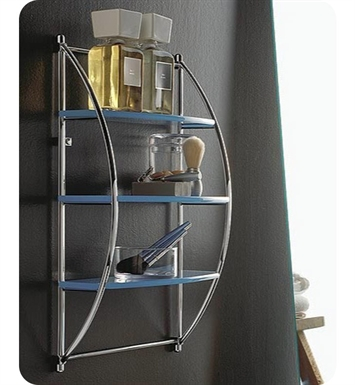 Nameeks 5543-14 Toscanaluce Bathroom Shelf With Finish: Black