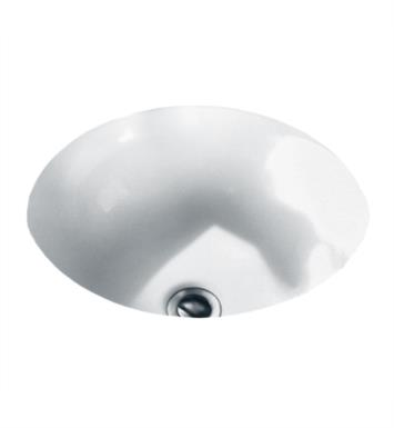 American Standard 0630000.222 Orbit Undercounter Sink With Finish: Linen