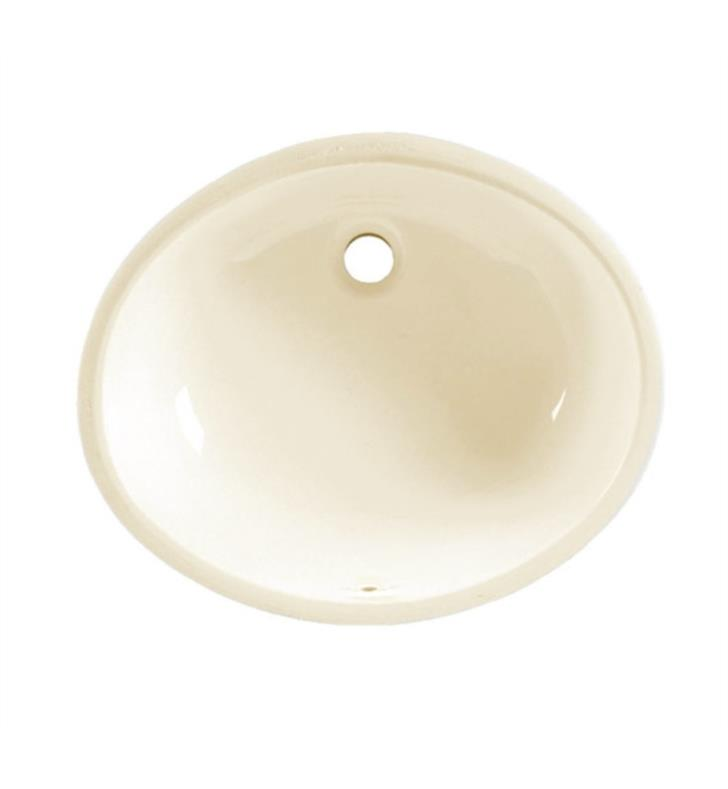 American Standard Ovalyn Undercounter Porcelain Bathroom Sink With Finish White