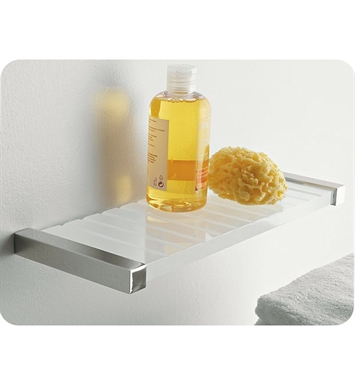 Nameeks 4540-14 Toscanaluce Bathroom Shelf With Finish: Black
