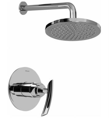 Graff G-7230-LM24S-SN Tranquility Contemporary Full Pressure Balancing System Shower With Finish: Steelnox (Satin Nickel) And Rough / Valve: Rough