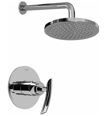 Graff G-7230-LM24S-SN Full Pressure Balancing System Shower With Finish: Steelnox (Satin Nickel)