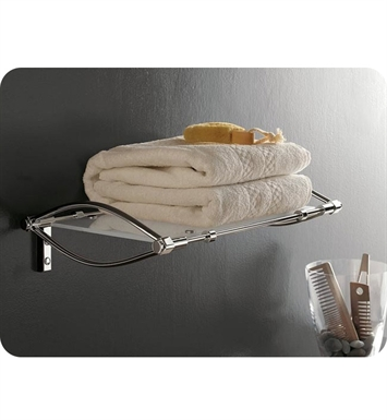 Nameeks 5550-14 Toscanaluce Bathroom Shelf With Finish: Black
