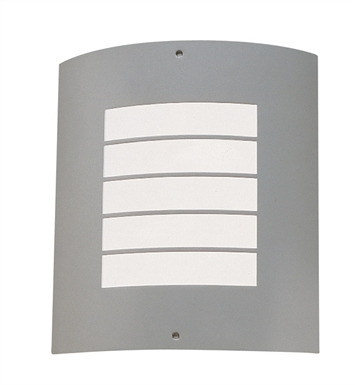 Kichler 6040NI One Light Outdoor Wall Sconce in Brushed Nickel
