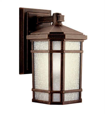 Kichler Cameron Collection 1 Light Outdoor Wall Sconce in Prairie Rock