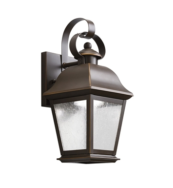 "Kichler 9707OZLED Mount Vernon 1 Light 5 1/2"" LED Outdoor Wall Sconce in Olde Bronze"