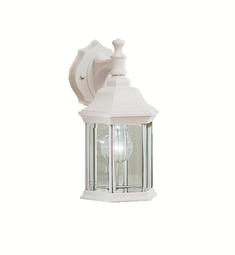 Kichler Chesapeake Collection 1 Light Outdoor Wall Sconce in White