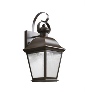 "Kichler 9708OZLED Mount Vernon 1 Light 7 1/2"" LED Outdoor Wall Sconce in Olde Bronze"