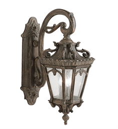 Kichler Tournai Collection 3 Light Outdoor Wall Sconce in Londonderry