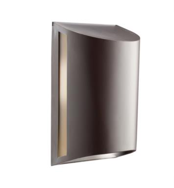 "Kichler 10922AZ 1 Light 7"" Compact Fluorescent Outdoor Wall Sconce in Architectural Bronze"