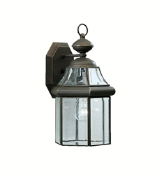 Kichler Embassy Row Collection 1 Light Outdoor Wall Sconce in Olde Bronze