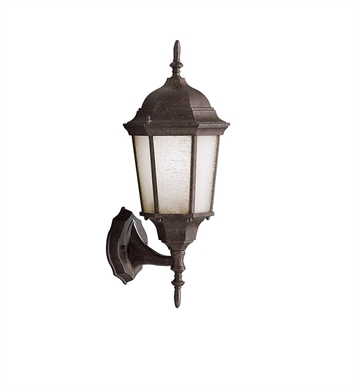 Kichler 9653TZ One Light Outdoor Wall Sconce in Tannery Bronze