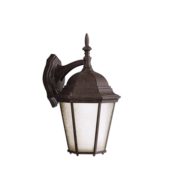 Kichler 9655TZ One Light Outdoor Wall Sconce in Tannery Bronze
