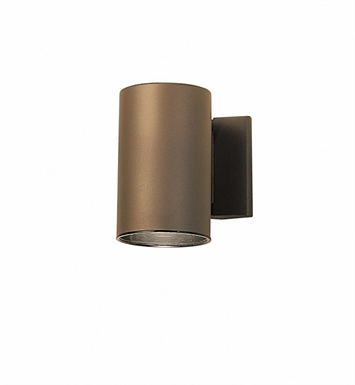 Kichler 9234AZ One Light Outdoor Wall Sconce in Architectural Bronze