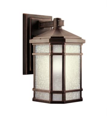 "Kichler 9719PR Cameron 1 Light 8"" Incandescent Outdoor Wall Sconce in Prairie Rock"