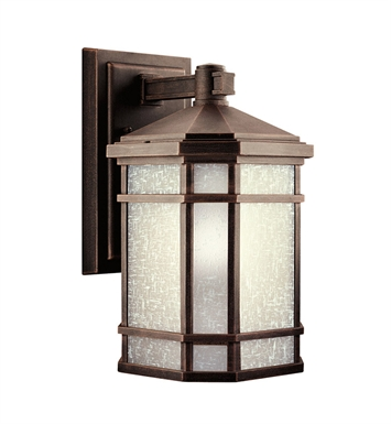 Kichler 9719PR Cameron Collection 1 Light Outdoor Wall Sconce in Prairie Rock