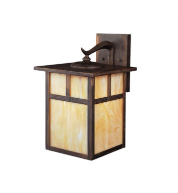"Kichler 9652CV Alameda 1 Light 9"" Incandescent Outdoor Wall Sconce in Canyon View"
